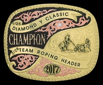 Custom Trophy Belt Buckle 6606