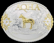 Customizable American Quarter Horse (AQHA) Belt Buckle 2