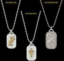 Customizable Dog Tag Necklace