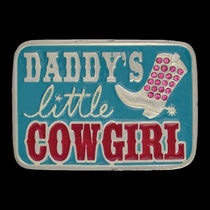 Daddy's Little Cowgirl Kid's Attitude Buckle (A418)