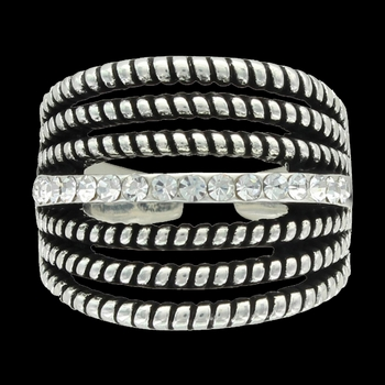 Daily Rope and Shine Ring Attitude Jewelry (ARG3476)