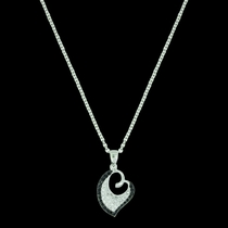 Dancing Hearts Necklace (NC3607)