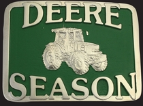 Deere Season Belt Buckle