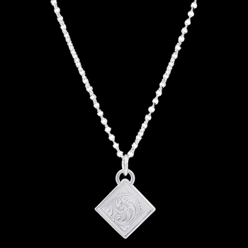 Diamond Token Necklace (NC2680)