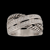 Double Band Wrap Ring