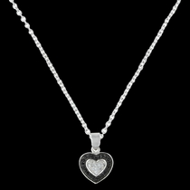 Double Layer of Love Necklace (NC3028)