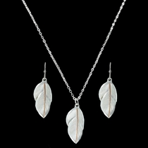 Downy Feather Jewelry Set (JS2878RG)