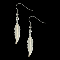 Dream Feathers Dangle Earrings (ER1967)