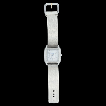 Dress West Rectangular Rope Face Watch Large (WCH1463)