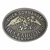 Duck Commander® Duckaholics Anonymous Oval Heritage Attitude Buckle (A305DC)