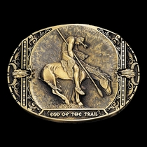 End of the Trail Heritage Attitude Belt Buckle (60792C)