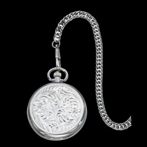 Engraved Silver Pocket Watch (WCHP39)