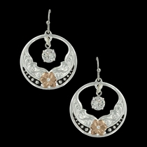 Evening Star's Wild Rose Earrings (ER3491RG)