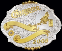 Fancy Champion Buckle | Montana Silversmiths 60570