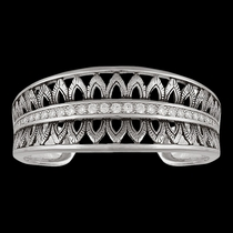 Feathered Crown Cuff Bracelet (BC2755)