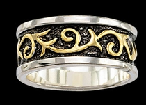 Filigree Band Ring by Montana Silversmiths