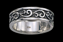 Filigree Ring by Montana Silversmiths