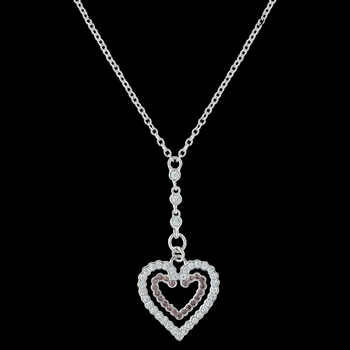 Filling Up on Love Heart Necklace (NC3400)