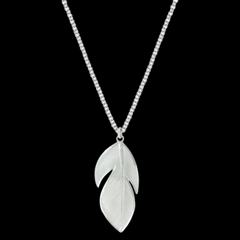 Floating Feather Necklace (NC2879)