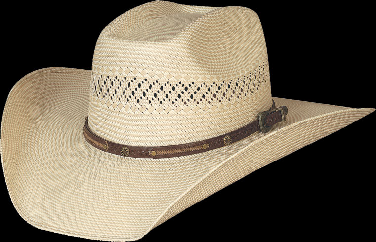 Fortunate One  Western Straw Hat from Bullhide by Montecarlo Hat Co. 3a9125ec0b9