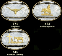 Galloping Horse Buckle