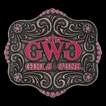 Girls With Guns® Attitude Belt Buckle (A113GWG)