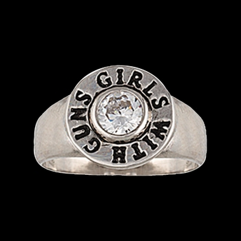 Girls With Guns® Back of the Bullet Ring