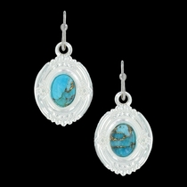 Glacier Pools of Turquoise Earrings (ER3354)