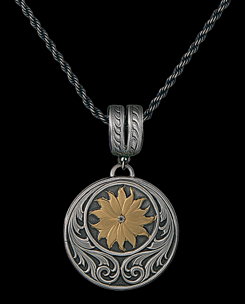 silve moon in pendant chain includes products silver golden sterling face sun bone