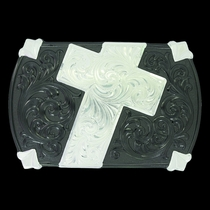 Gunmetal Walk of Faith Buckle (30210SB)