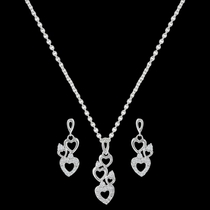 Heart Family Jewelry Set (JS3033)
