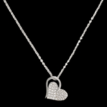 Heart Print Necklace  (NC2512)