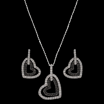 Hearts Deep Reflection Jewelry Set (JS2236)