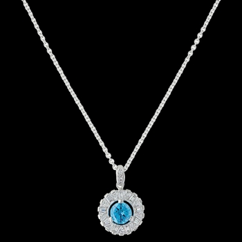 Hot Summer Days Halo Necklace (NC3422)