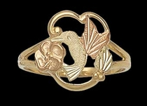 Hummingbird Ring - Black Hills Gold | Landstrom's 02734