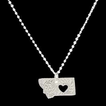 I Heart Montana Necklace (NC2370MT)