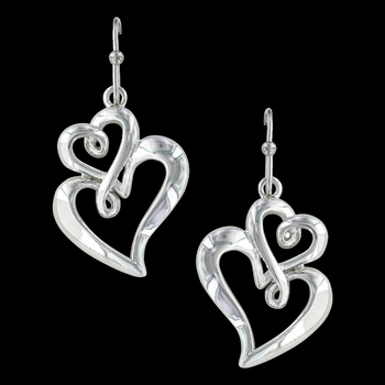 Infinite Love Heart Earrings (ER3309)