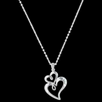 Infinite Love Heart Necklace (NC3309)
