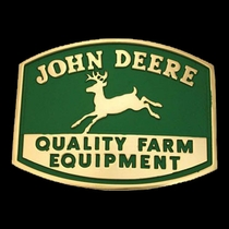 John Deere Quality Farm Equipment Logo Attitude Belt Buckle (61177)