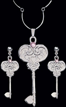 Key To My Heart Jewelry Set