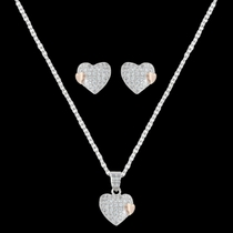 Kindred Hearts Jewelry Set (JS3030)