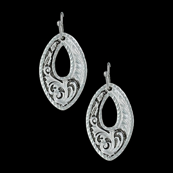 LeatherCut Trailing Night Vines Earrings (ER3096)