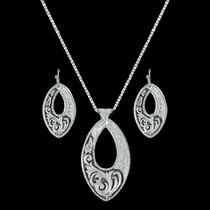 LeatherCut Trailing Night Vines Jewelry Set (JS3096)