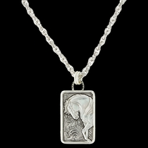 Legacy of Strength Horse Pendant Necklace (NC3258RTS)
