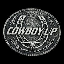 Little Classic Impressions Attitude Cowboy Up Buckle (A509S)