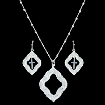 Looking Through to Faith Jewelry Set (JS3116)