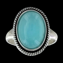 Misty Blue Pool Ring