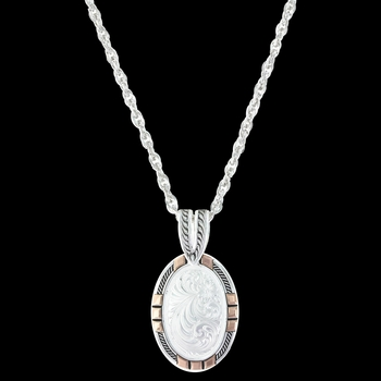 New Traditions Rose Gold Pendant Necklace (NC2890RG)