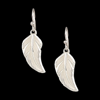No Dream Is Too Small Feather Earrings (ER2317)
