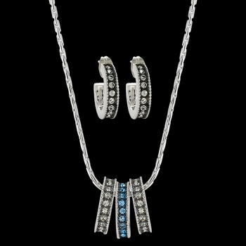 Once in a Blue Moon Jewelry Set (JS3436)